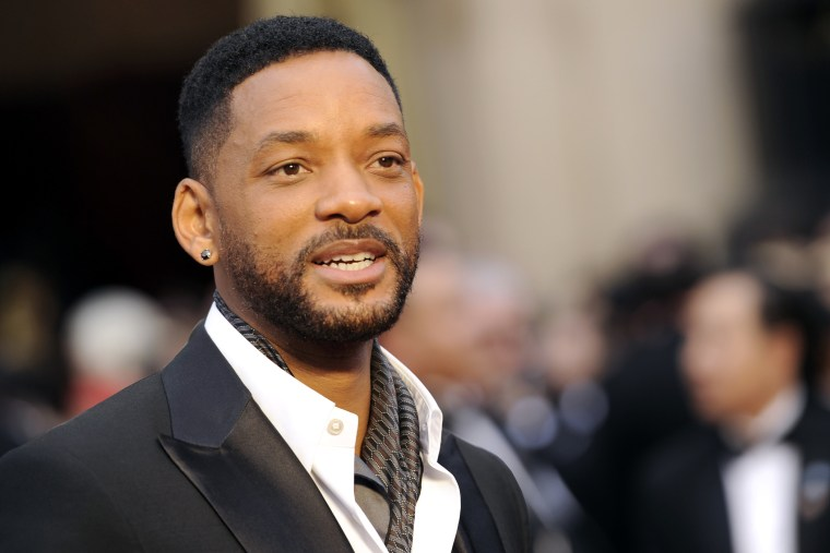 In this March 2, 2014 file photo, Will Smith arrives at the Oscars at the Dolby Theatre in Los Angeles, Calif. (Photo by Chris Pizzello/Invision/AP)
