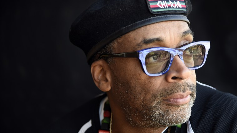 Spike Lee poses for a portrait in Beverly Hills, Calif., Oct. 7, 2015. (Photo by Chris Pizzello/Invision/AP)