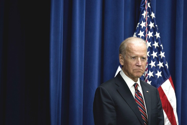 Vice President Joe Biden delivers remarks at an event in Washington, D.C., on Oct. 19, 2015. (Photo by Jim Watson/AFP/Getty)