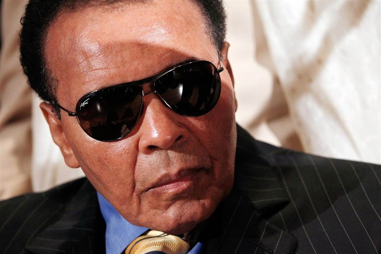 Muhammad Ali. (Photo by File/NBC News)