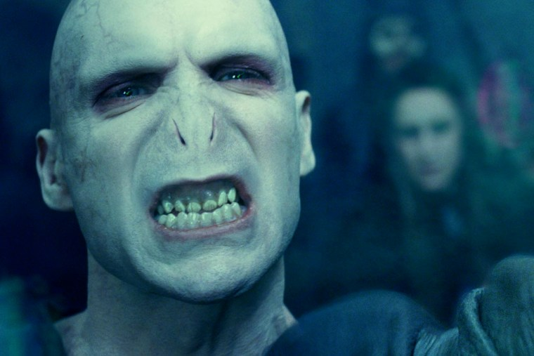 Film still of Lord Voldemort, Courtesy of Warner Bros. Entertainment Inc. (Photo by Eric Charbonneau/WireImage/Getty)