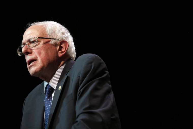 Democratic presidential candidate U.S. Senator Bernie Sanders, (I-VT) speaks during a news conference Dec. 23, 2015 in Chicago, Ill. (Photo by Joshua Lott/Getty)