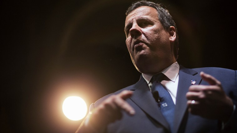 Republican presidential candidate, New Jersey Gov. Chris Christie, speaks at the RedState Gathering, Aug. 7, 2015, in Atlanta, Ga. (Photo by David Goldman/AP)