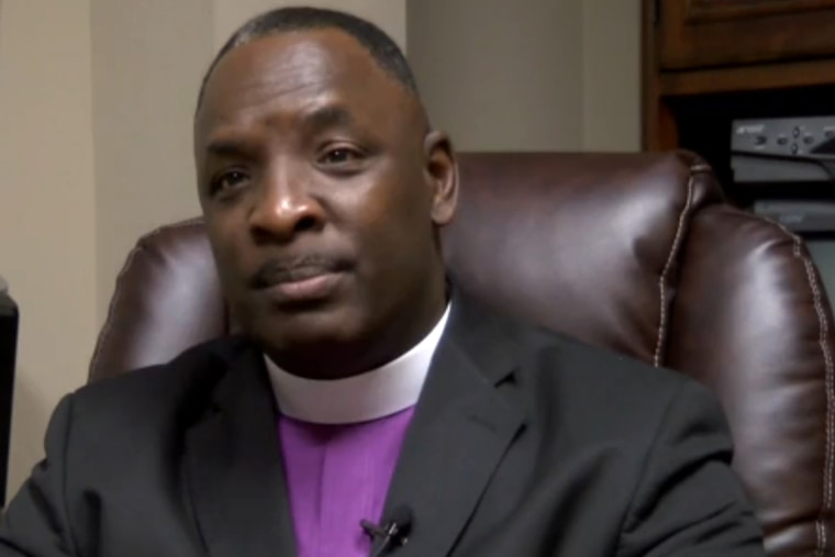 Bishop Larry Wright. (Screengrab Courtesy of NBC News)