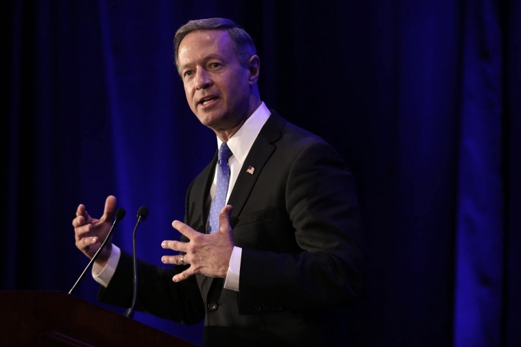 Former Maryland Governor and U.S. Democratic presidential candidate Martin O'Malley delivers remarks during the National Immigrant Integration Conference in Brooklyn, N.Y., on Dec. 15, 2015. (Photo by Andrew Gombert/EPA)