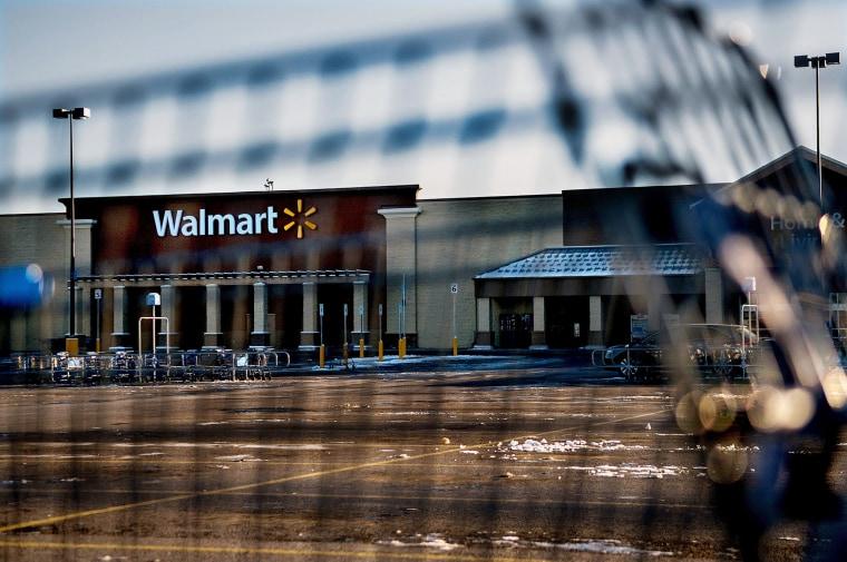 Wal-Mart in Hayden, Idaho, Dec. 30, 2014. (Photo by Kathy Plonka/The Spokesman-Review/AP)