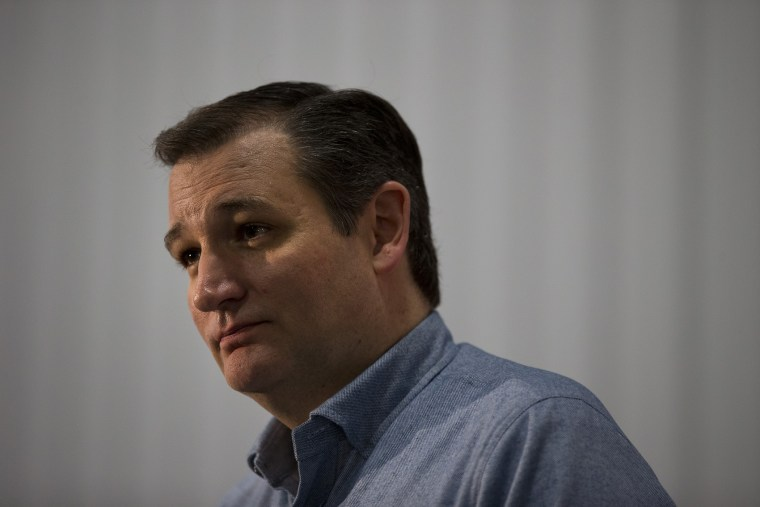 Republican presidential candidate, Sen. Ted Cruz, R-Texas, listens to a question during a campaign event, Jan. 7, 2016, in Webster City, Ia. (Photo by Jae C. Hong/AP)