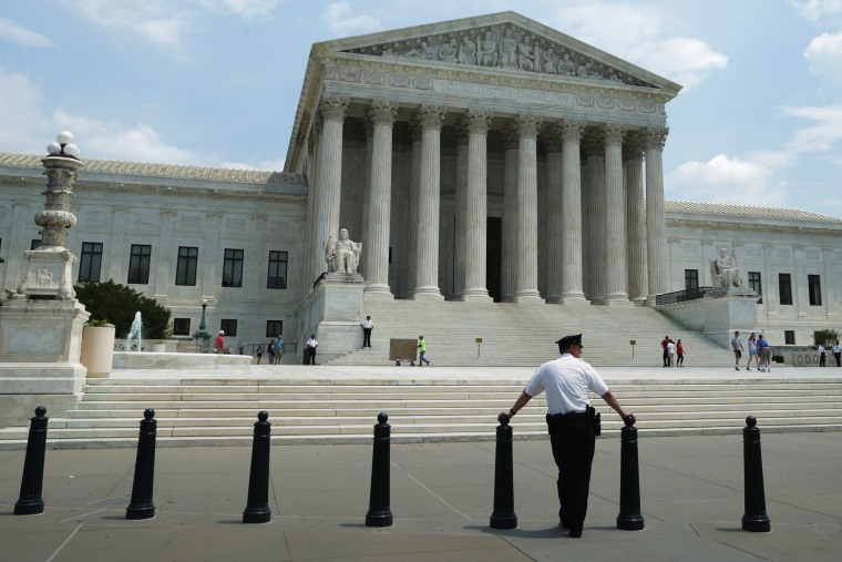 The United States Supreme Court, May 27, 2014, in Washington, DC. (Photo by Chip Somodevilla/Getty)