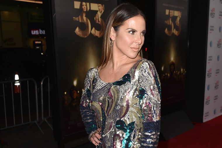 """Actress Kate del Castillo attends the Centerpiece Gala Premiere of """"The 33"""" at TCL Chinese Theatre on Nov. 9, 2015 in Hollywood, Calif. (Photo by Kevin Winter/AFI/Getty)"""