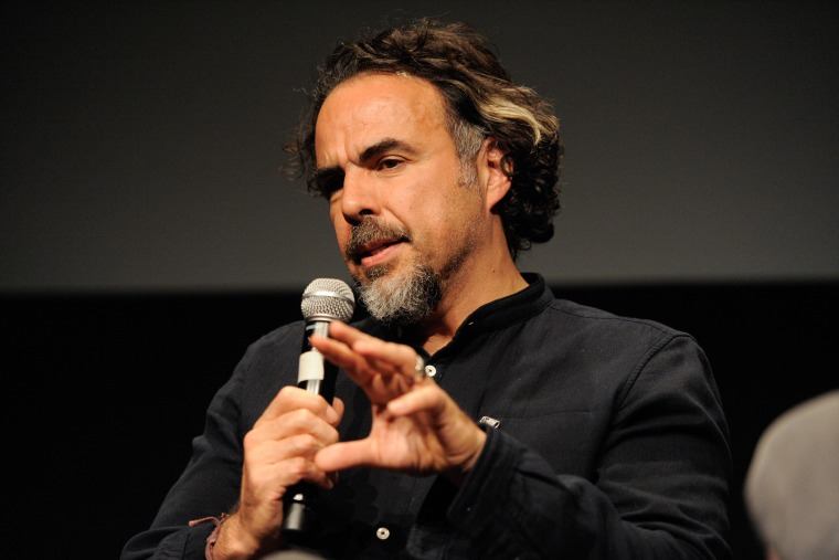 """Alejandro G. Iñárritu attends The Academy Of Motion Picture Arts And Sciences official Academy screening of """"The Revenant"""" at NYIT Theatres on Dec. 1, 2015 in New York City. (Photo by Matthew Eisman/Getty)"""