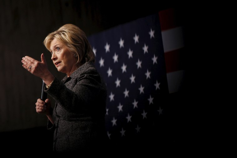 U.S. Democratic presidential candidate Hillary Clinton speaks during a campaign rally at Iowa State University in Ames, Iowa, Jan. 12, 2016. (Photo by Scott Morgan/Reuters)