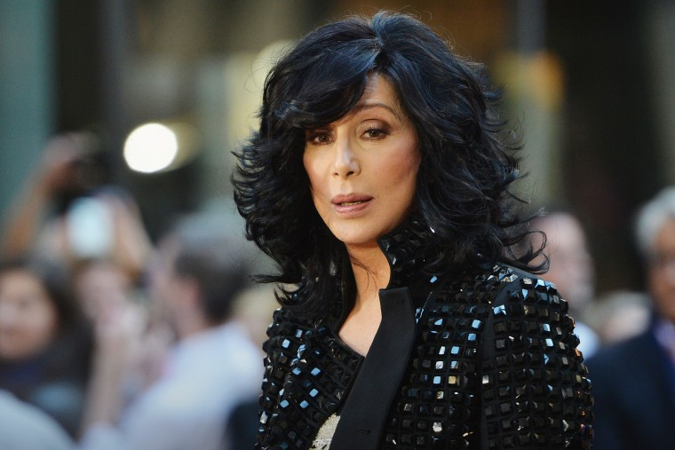 """Singer Cher peforms on NBC's """"Today"""" at NBC's TODAY Show on Sept. 23, 2013 in New York City. (Photo by Slaven Vlasic/Getty)"""