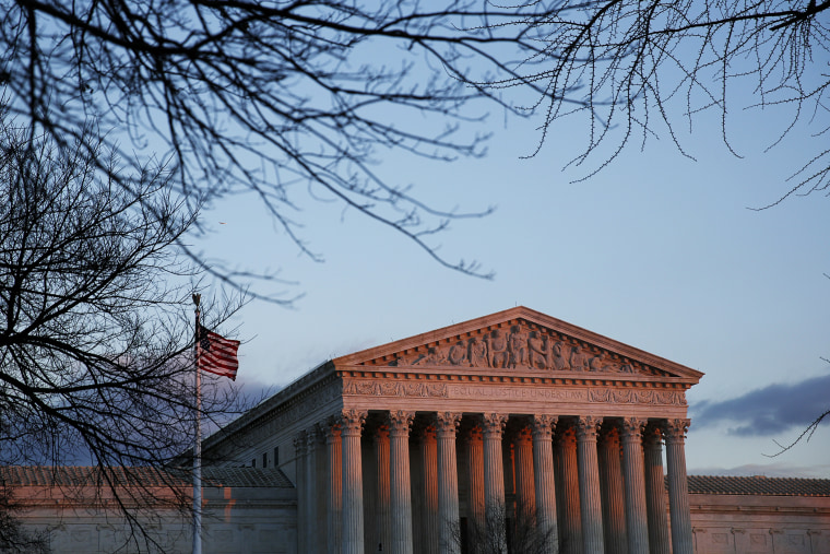 The United States Supreme Court is seen in Washington, D.C. (Photo by Gary Cameron/Reuters)