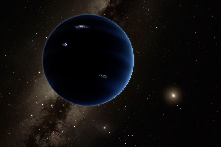 This artistic rendering shows the distant view from Planet Nine back towards the sun. (Photo by R. Hurt/Caltech/IPAC)