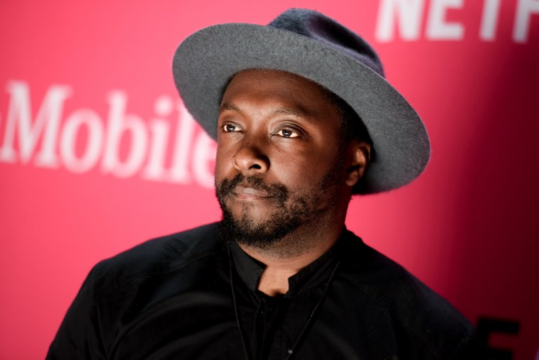 Musician Will.I.Am attends T-Mobile's Launch of Un-carrier X held at the Shrine Auditorium, Nov. 10, 2015, in Los Angeles. (Photo by Richard Shotwell/Invision/AP)