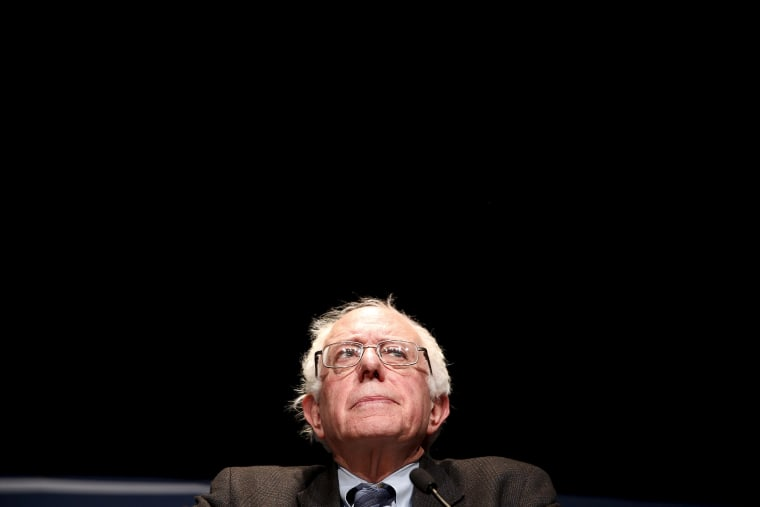 Democratic U.S. presidential candidate Senator Bernie Sanders listens to a question from the audience during a campaign event at Wartburg College in Waverly, Iowa, Jan. 8, 2016. (Photo by Scott Morgan/Reuters)