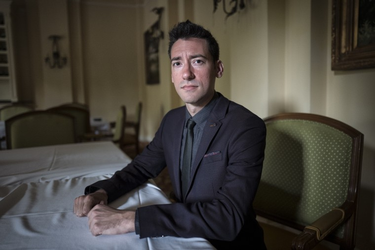 A portrait of David Daleiden, founder of The Center for Medical Progress at the Value Voters Summit, taken on Sept. 25, 2015 in Washington DC. (Photo by Charles Ommanney/The Washington Post/Getty)