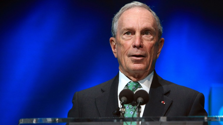 In this Dec. 3, 2015, file photo, former New York Mayor Michael Bloomberg speaks during the C40 cities awards ceremony, in Paris. (Photo by Thibault Camus/AP)