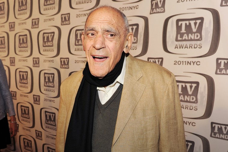 Actor Abe Vigoda attends the 9th Annual TV Land Awards at the Javits Center on April 10, 2011 in New York City. (Photo by Larry Busacca/Getty)