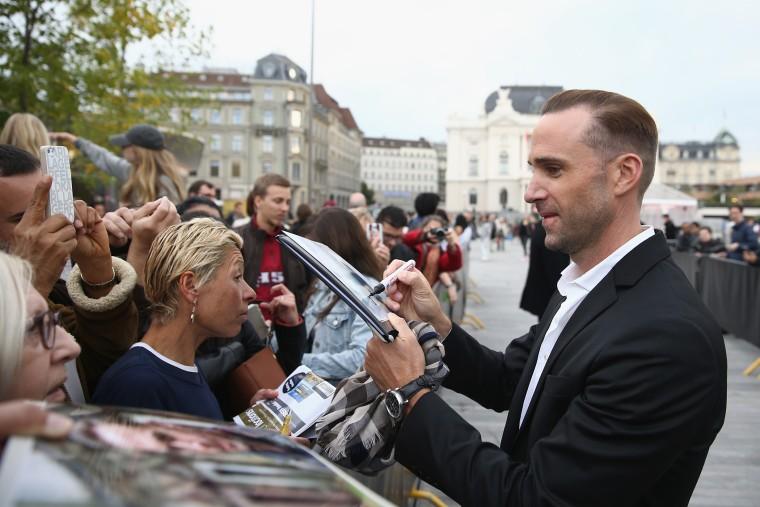Actor Joseph Fiennes attends the 'Strangerland' Premiere during the Zurich Film Festival on Oct. 2, 2015 in Zurich, Switzerland. (Photo by Andreas Rentz/Getty)