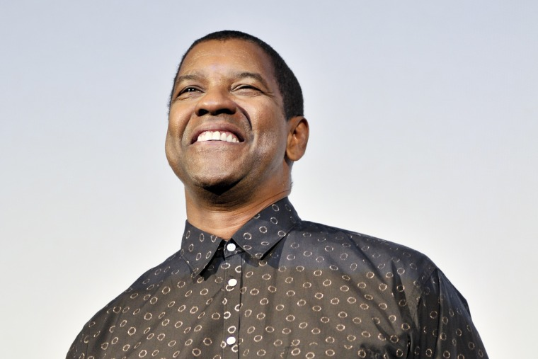 Actor Denzel Washington attends the 'Flight' Japan Premiere at Marunouchi Piccadilly on Feb. 21, 2013 in Tokyo, Japan. (Photo by Keith Tsuji/Getty)