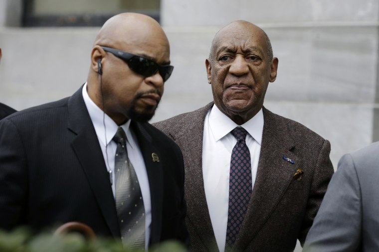 Actor and comedian Bill Cosby arrives for a court appearance, Feb. 3, 2016, in Norristown, Pa. (Photo by Mel Evans/AP)
