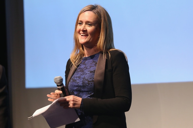 Samantha Bee attends an event on May 18, 2015 in New York, N.Y. (Photo by Robin Marchant/Getty for The Leukemia & Lymphoma Society)