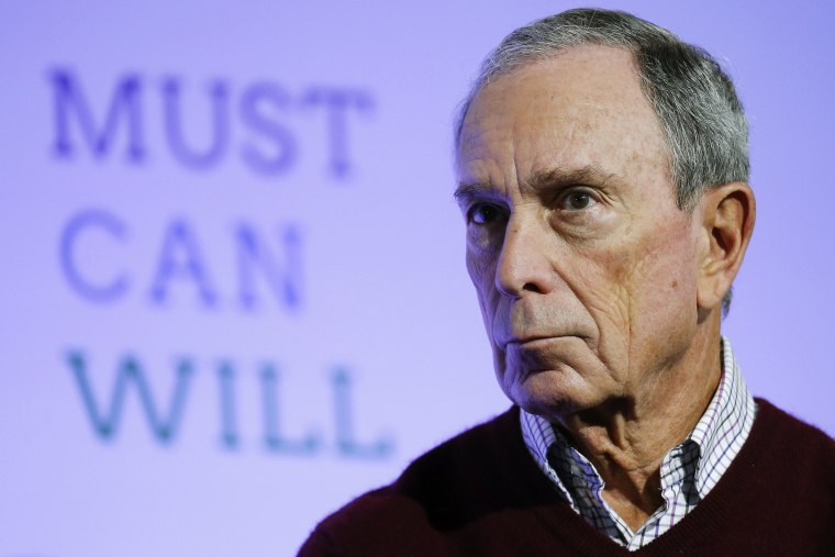 Former New York City Mayor Michael Bloomberg attends a meeting during COP21 at Le Bourget, near Paris, France, Dec. 5, 2015. (Photo by Stephane Mahe/Reuters)