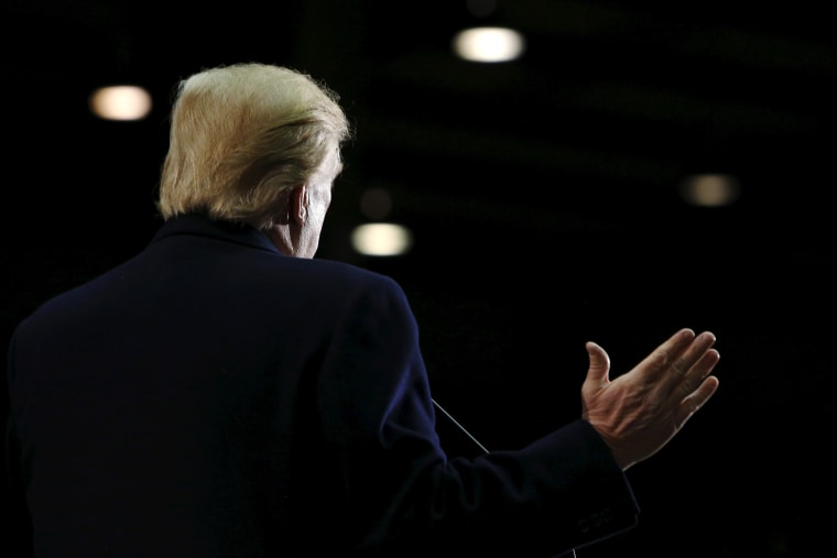 Republican presidential candidate Donald Trump holds a rally at Clemson University's livestock arena in Pendleton, S.C., Feb. 10, 2016. (Photo by Jonathan Ernst/Reuters)