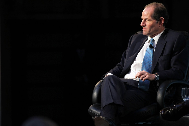Former New York Governor Eliot Spitzer speaks at a forum on the future of New York on Sept. 16, 2010 at the New York Public Library in New York, N.Y. (Photo by Spencer Platt/Getty)