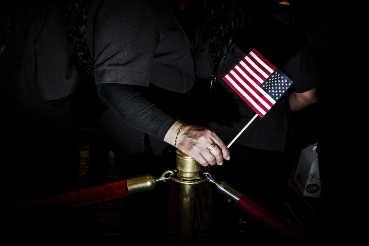 The Democratic caucuses are held in Nevada, Feb. 20, 2016.
