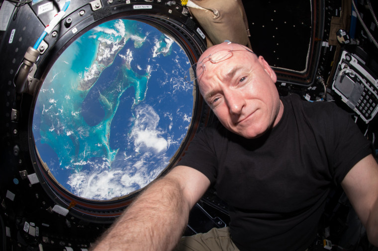 On Friday, Oct. 16, Scott Kelly begins his 383rd day living in space, surpassing U.S. astronaut Mike Fincke's record.