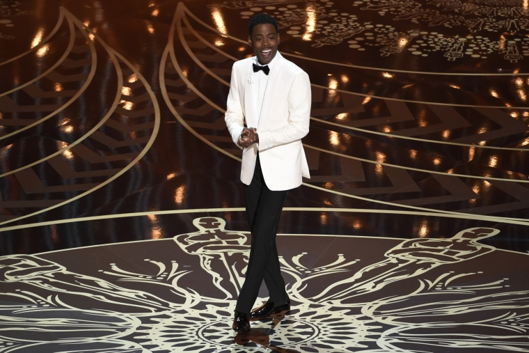 Host Chris Rock speaks at the Oscars on Sunday, Feb. 28, 2016, at the Dolby Theatre in Los Angeles, Calif. (Photo by Chris Pizzello/Invision/AP)