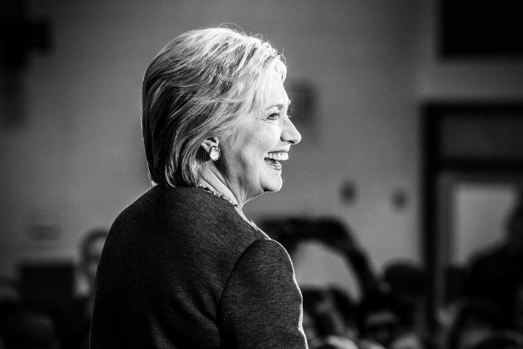 Hillary Clinton holds a rally in Norfolk, Va., Feb. 29, 2016. (Photo by Mark Peterson/Redux for MSNBC)