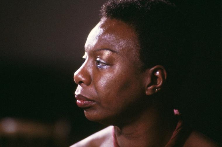 An undated portrait of Nina Simone. (Photo by David Redfern/Redferns/Getty)