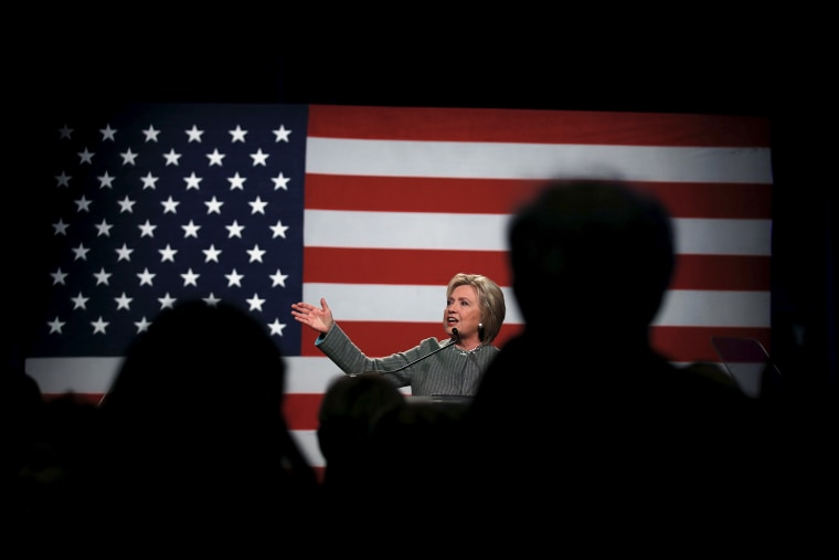 U.S. Democratic presidential candidate Hillary Clinton speaks at the Michigan Democratic Party meeting in Detroit, Mich., March 5, 2016. (Photo by Carlos Barria/Reuters)