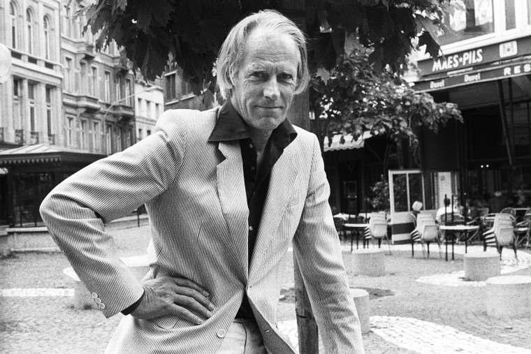 Portrait of producer George Martin. (Photo by Rob Verhorst/Redferns/Getty)