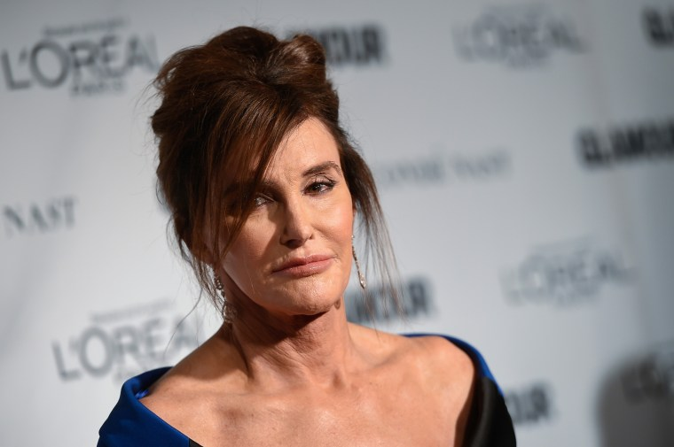 """Glamour's \""""The Transgender Champion\"""" honoree, Caitlyn Jenner, attends the 25th Annual Glamour Women of the Year Awards at Carnegie Hall, Nov. 9, 2015, in New York. (Photo by Evan Agostini/Invision/AP)"""
