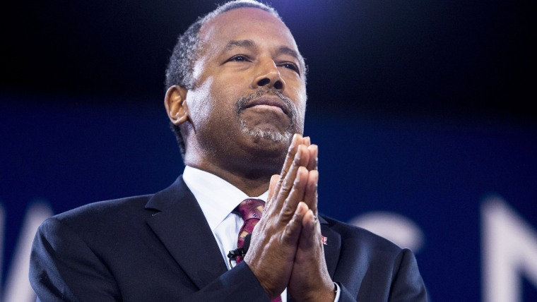Republican Presidential hopeful Ben Carson speaks during the annual Conservative Political Action Conference (CPAC) 2016 at National Harbor in Oxon Hill, Md., March 4, 2016. (Photo by Saul Loeb/AFP/Getty)