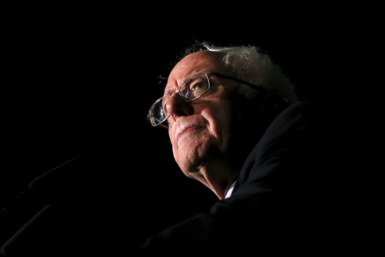 Democratic U.S. presidential candidate Bernie Sanders speaks to supporters during a campaign rally at Missouri State University in Springfield, Mo., March 12, 2016. (Photo by Shannon Stapleton/Reuters)