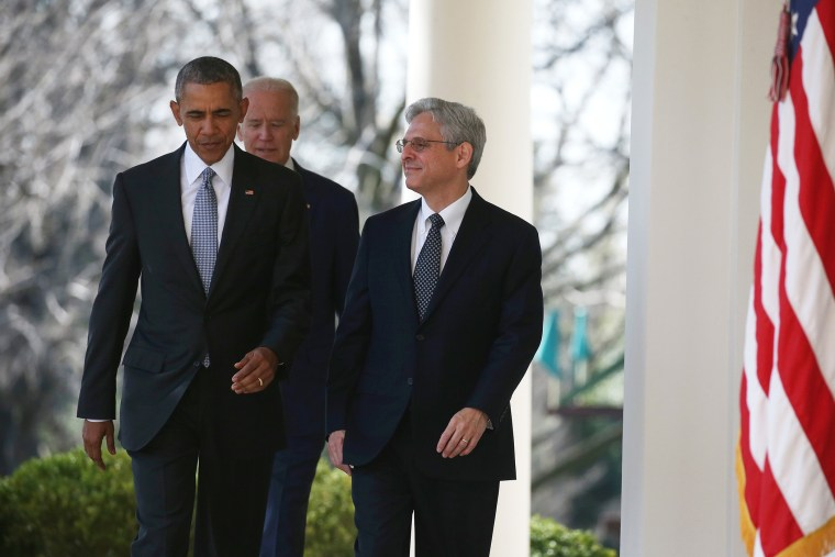 President Obama Announces Merrick Garland As His Nominee To The Supreme Court (Photo by Mark Wilson/Getty)