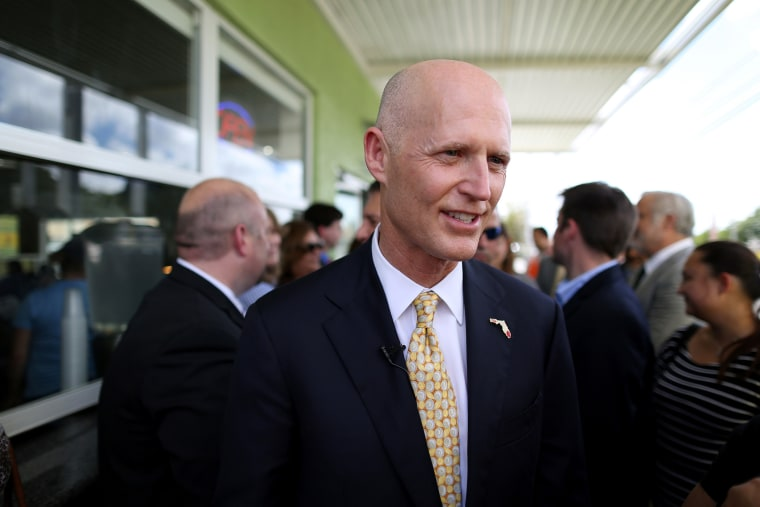 Florida Governor Rick Scott attends an event on March 9, 2015 in Hialeah, Fla. (Photo by Joe Raedle/Getty)