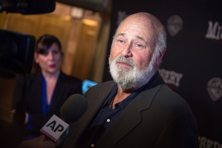"""Rob Reiner attends """"Misery"""" Broadway opening night at The Broadhurst Theatre on Nov. 15, 2015 in New York City. (Photo by Michael Stewart/Getty)"""