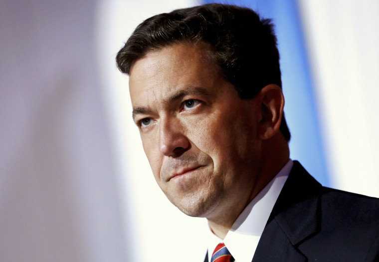 Tea Party candidate Chris McDaniel delivers a concession speech in Hattiesburg, Miss., June 24, 2014. (Photo by Jonathan Bachman/Reuters)