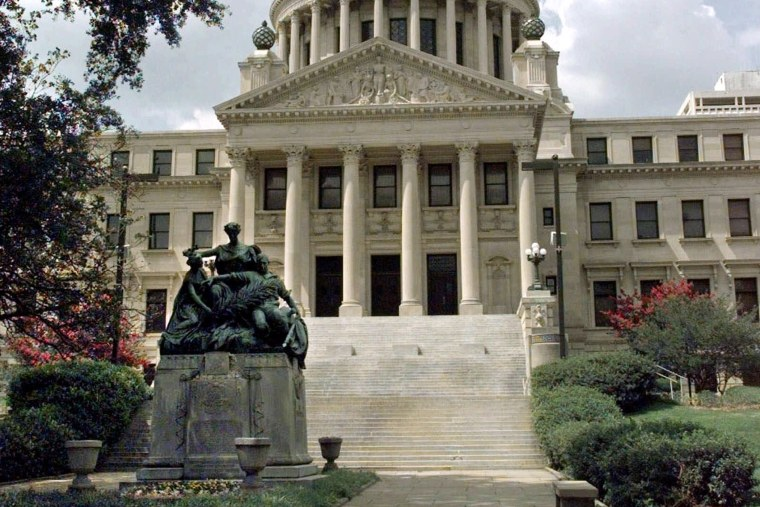 Prominent among the sights to see in Jackson, Miss., is the Mississippi State Capitol, photographed, June 10, 1999. Completed in 1903, the building exemplifies the beaux arts classical style of architecture.