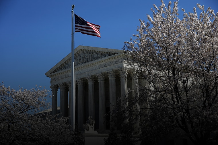 The U.S. Supreme Court is shown March 29, 2016 in Washington, D.C. (Photo by Win McNamee/Getty)