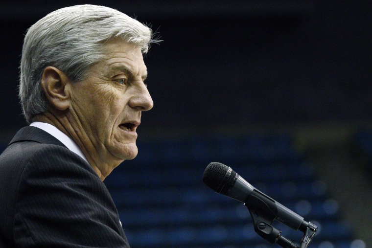 Gov. Phil Bryant speaks during an event on Oct. 29, 2015 in Jackson, Miss. (Photo by Rogelio V. Solis/AP)