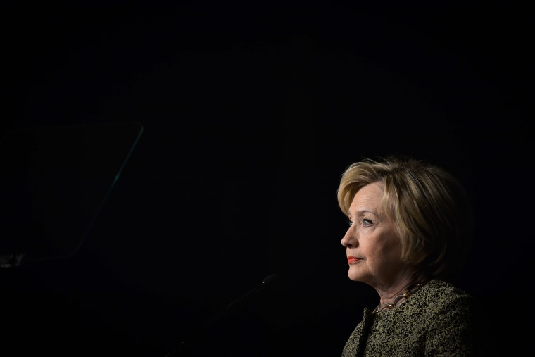 Democratic U.S. presidential candidate Hillary Clinton speaks to the Pennsylvania AFL-CIO Convention in Philadelphia, Penn., April 6, 2016. (Photo by Charles Mostoller/Reuters)