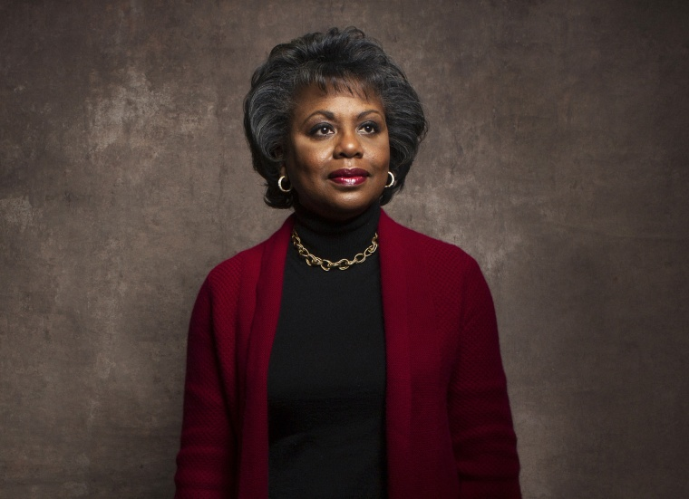 Anita Hill poses for a portrait during the Sundance Film Festival, Jan. 18, 2013, in Park City, Utah. (Photo by Victorial Will/Invision/AP)