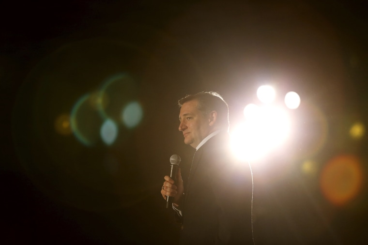 Republican presidential candidate Ted Cruz speaks at a rally in San Diego, Calif., April 11, 2016. (Photo by Mike Blake/Reuters)